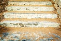 Échelle de la plage, Malte Photographie stock