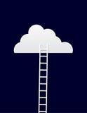 Échelle de nuage Photos libres de droits