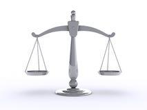 Échelle de poids Image libre de droits