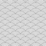 Échelle de poissons sans couture Photo stock