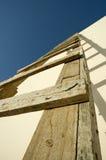 Échelle en bois Photo libre de droits