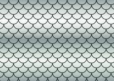 Échelles de poissons argentés. Image libre de droits