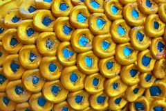 Échelles thaïlandaises de Naga Photographie stock