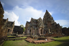 Échelon de Prasat Phanom Photo stock