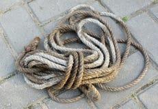 Écheveau de corde photographie stock