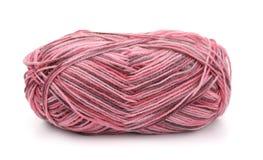 Écheveau de fil à tricoter acrylique multicolore Photos libres de droits