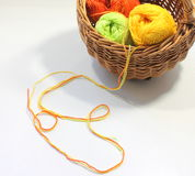 Écheveau de fil de laine Photographie stock