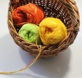 Écheveau de fil de laine Photo libre de droits