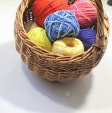 Écheveau de fil de laine Photographie stock libre de droits