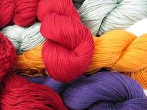Écheveaux de fil Image stock
