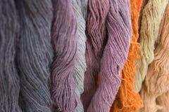 Écheveaux de laine Images libres de droits
