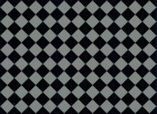 Échiquier diagonal dynamique abstrait Photos stock