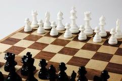 Échiquiers et pièces d'échecs Image libre de droits