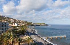 Échouez en Santa Cruz, île de la Madère, Portugal Images stock