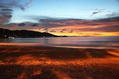 Échouez le lever de soleil Images libres de droits