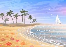 Échouez les vacances Image libre de droits