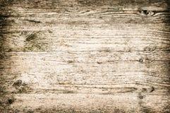 Échouez ordonné horizontal et la couleur claire de panneau texturisé en bois de fond blanchie bruns Photo stock