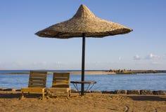 Échouez sur la Mer Rouge, Hurghada, Egypte Image stock