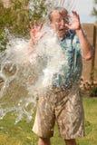 Éclaboussé avec de l'eau Photographie stock libre de droits