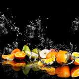 Éclaboussement de l'eau photo stock
