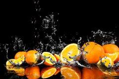 Éclaboussement de l'eau photographie stock libre de droits