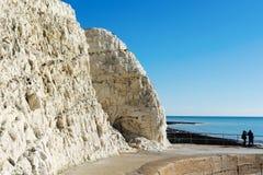 Éclaboussez le point, Seaford, East Sussex photo libre de droits