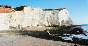 Éclaboussez le point, Seaford, East Sussex photos libres de droits