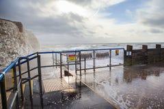 Éclaboussez le point, Seaford, East Sussex photographie stock libre de droits