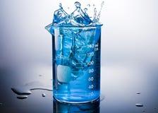 Éclaboussure chimique Photographie stock libre de droits