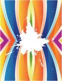 éclaboussure colorée de fond illustration libre de droits