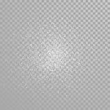 Éclaboussure d'étincelles de scintillement de diamant de vecteur illustration libre de droits