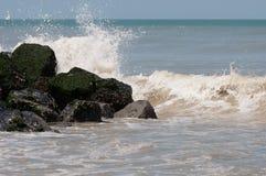 Éclaboussure d'océan Images stock