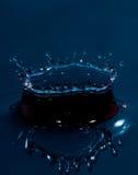 Éclaboussure de baisse de l'eau Images stock