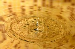 Éclaboussure de l'eau Photographie stock