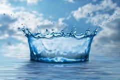 Éclaboussure de l'eau Photos stock