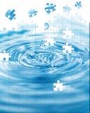 Éclaboussure de l'eau Image libre de droits