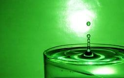 Éclaboussure de l'eau en glace Image stock