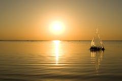 Éclaboussure de lever de soleil Image libre de droits