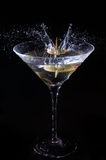 Éclaboussure de Martini photos libres de droits