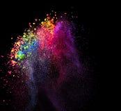 Éclaboussure de peinture colorée Photographie stock libre de droits