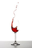 Éclaboussure de vin rouge Image libre de droits