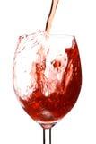 Éclaboussure en vin Image libre de droits