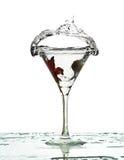 éclaboussure liquide Image stock