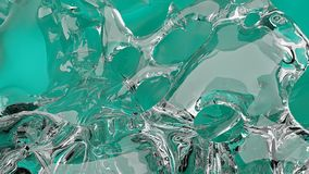Éclaboussure liquide colorée de résumé illustration de vecteur