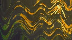 Éclaboussure onduleuse de couleur Éclaboussure teintée abstraite peinte à la main de peinture Le grunge a peint le papier numériq illustration libre de droits