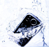 Éclaboussure Smartphone Image libre de droits