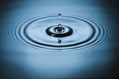 Éclaboussure sur la surface de l'eau images stock