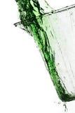 Éclaboussure verte Image libre de droits