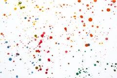 éclaboussures Et Taches De Peinture Acrylique Pour Le Fond Photo