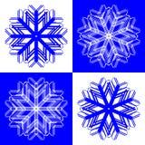 Éclailles 2 de neige Illustration Libre de Droits